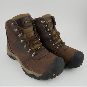 Keen 10 men's hikers boots leather